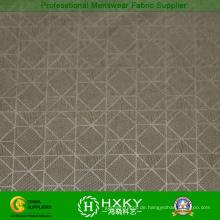 100 % Polyester geometrische Muster geprägtem Stoff für Men′s-Jacke