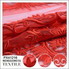 Китай пользовательские мода свадьба африканский вышивка ткани