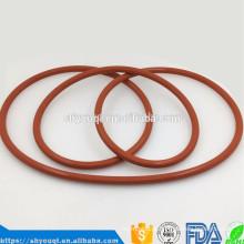 Alta resistência à temperatura de borracha de silicone selo o anel epdm nbr que faz Aning anéis de vedação da máquina