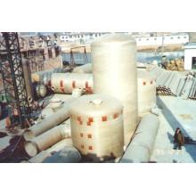Tanque FRP o recipiente con varios tamaños