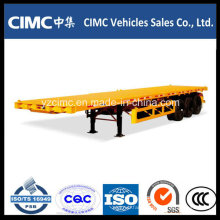 Cimc Tri-Axle 40FT Container Trailer