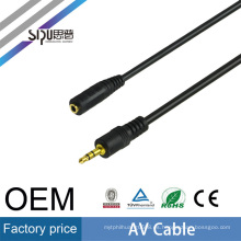 SIPU 3.5mm male to female stereo av cable wholesale earphone jack microphone audio cable best price av output cable