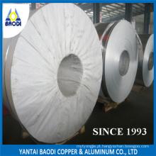 Tira de rolo de bobina de tamanho enorme de alumínio 8011