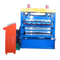 Three Layer Roof Sheets Metal Roll Forming Machine