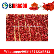 Machine de fabrication de poudre de chili en acier inoxydable 200kg / h