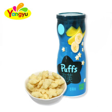 Nice Different Fruits Flavors Health Puffs for kids