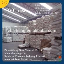 Resina de PVC de cloreto de polivinilo K67 SG-5