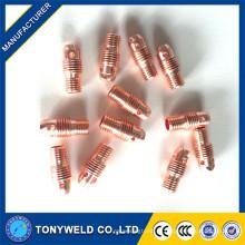 10n28 10n31 10n32 tig collet corpo para wp9 peças de armação de solda