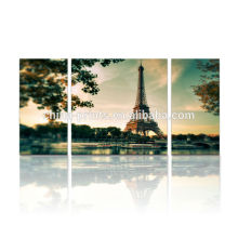Paris Eiffel Tower Painting/Canvas Art For Wall Decoration/Multi-panel Canvas Wall Art