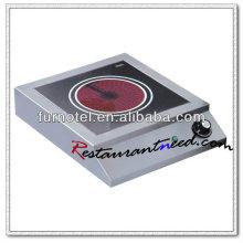 K155 Kitchen Equipment Fogão de indução comercial
