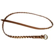 Fashion Young Lady′s Skinny PU Belt (KY1835)