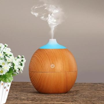 Humidificador ultrasónico LED creativo de 130ml USB para la oficina