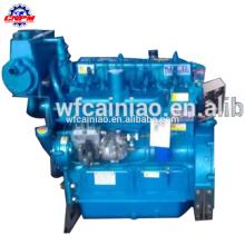 Fabricante de China 295C motor marino / motor de barco con caja de cambios