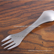 Rover Camel RC-T23 Outdoor Portable Spoon and Fork Camping Titanium Spork