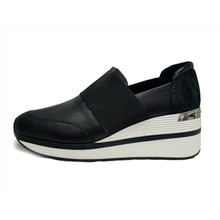 Women'S Black Athleisure Shoes Fashion