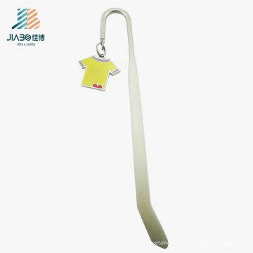 Free Sample Brass 14.5*2.5cm Custom Logo Metal Bookmark for Promotion Gift