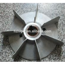 ventilador de aluminio a medida de disipación de calor del motor de fundición a presión