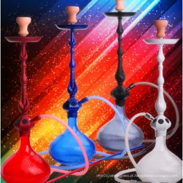 Popular Design Vidro Hookah Shisha árabe Narguilé