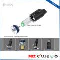 große Dampf Dual-Coils 1.4ml Flasche Luftstrom einstellbar China Großhandel Vaporizer Stift