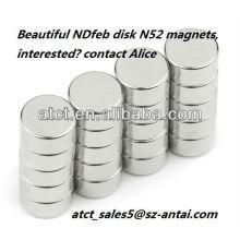 N35M permanente NdFeB Scheibe Magnet für generator