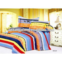 100% cotton print fabric for bedding set