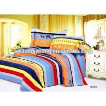 100% хлопок печать ткань для комплекта постельных принадлежностей