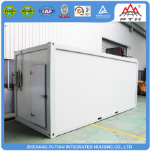 Fast build cheap EPS/PU/XPS sandwich panel prefab storage units