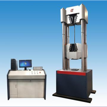 Máquina de teste de resistência à tração da costa de aço WAW-1000 G