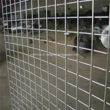 Panneaux à mailles carrées soudées galvanisées pour cage à poulet