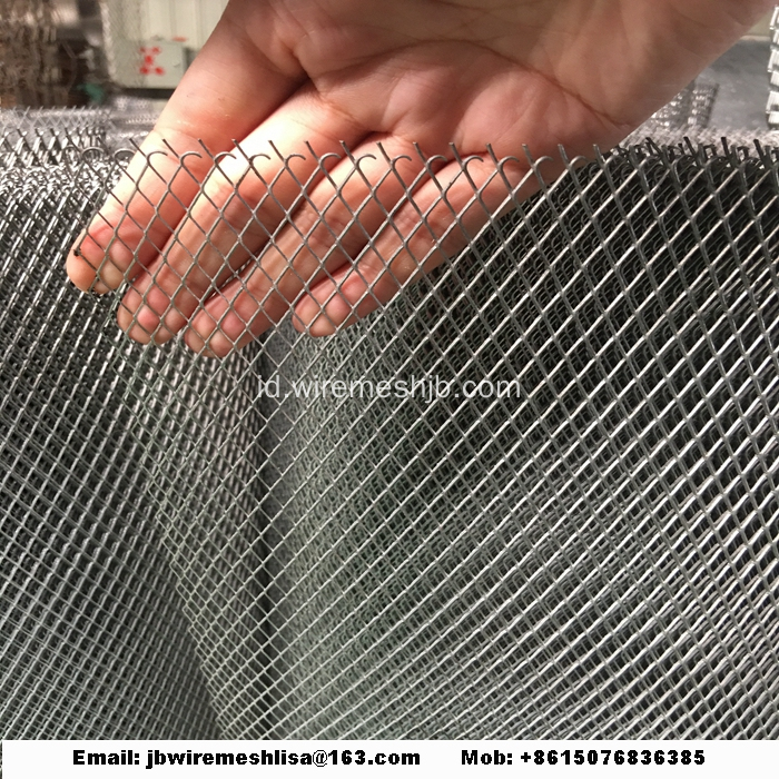 Powder Coated Dan Galvanized Expanded Steel Mesh