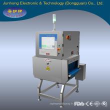 machine de nourriture d'inspection de rayon X, machine de sécurité de rayon x EJH-XR-4023