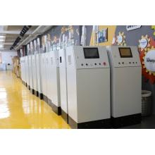 Машина для производства ткани из полипропилена, выдувной из расплава