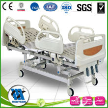 manual hospital bed with ABS rails