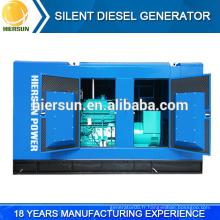 Générateur diesel silencieux de qualité supérieure, générateur diesel silencieux prime / standby à vendre