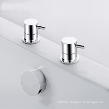 2 отверстия водонагреватель для ванны смеситель и палуба установлены 2 отверстия ванны