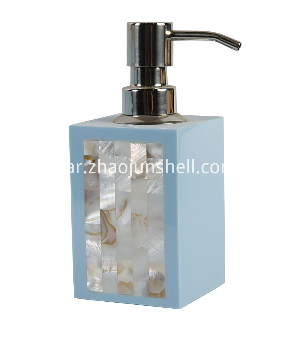 lacquer soap dispenser