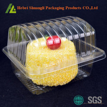 Clear transparent plastic cake box for sale