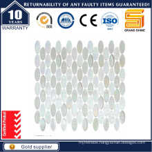 Oval Shape Glass Mosaic Kse9308