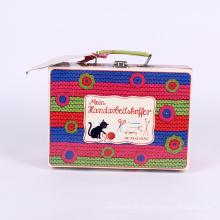 Ausgefallene Koffer Farbe Geschenkpapier Verpackung