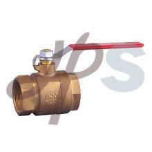 Válvula esférica de bronze completo C83600