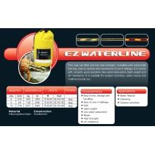 "Cuerdas de línea de flotación de 3/8 ""x 100 'Ez para actividades de rescate / acampada / actividades acuáticas"