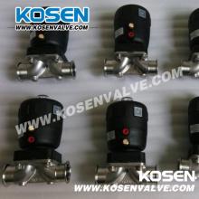 Пневматические мембранные клапаны BS из нержавеющей стали (G641)