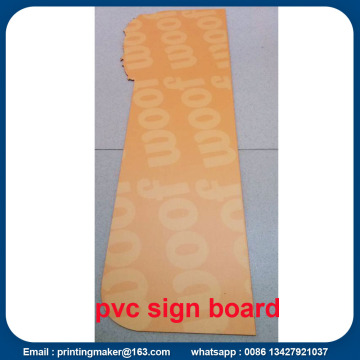 Custom PVC Foam Board Signs
