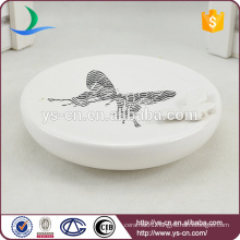 YSb40094-01-sd Butterfly bathroom shower soap dish