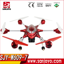 Professional big drone HUAJUN W609-7 4.5CH with Six axis Gyro RTF RC Helicopter 5.8G FPV With 2.0MP HD Camera SJY-W609-7
