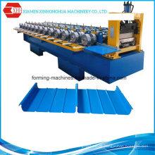 Standing Seam Metall Dachziegel / Farbe Stahl Bedachung Formmaschine