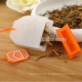 Vente chaude Nouveau Design feuille forme Silicone thé passoire