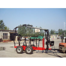 8T Trailer with Crane