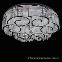chrome metal chandelier frame decorative lighting