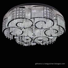 хром металлический каркас люстра декоративное освещение